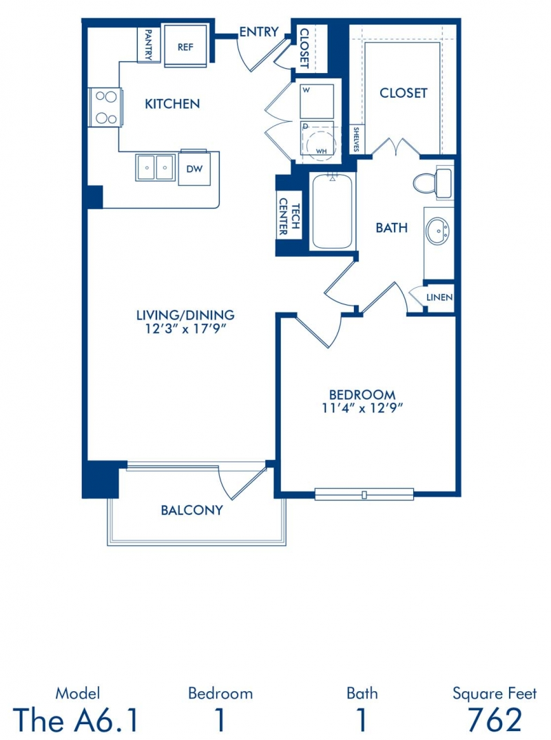 1 2 bedroom apartments in dallas tx camden victory park blueprint of a6 1 floor plan 1 bedroom and 1 bathroom at camden victory